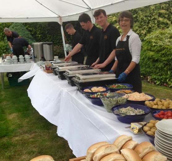 parties with fryton catering